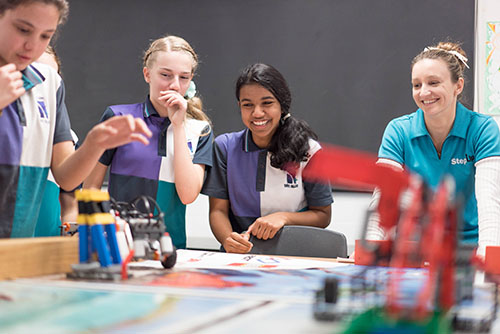 Northside STEM Challenge: Robots open students' eyes to the future