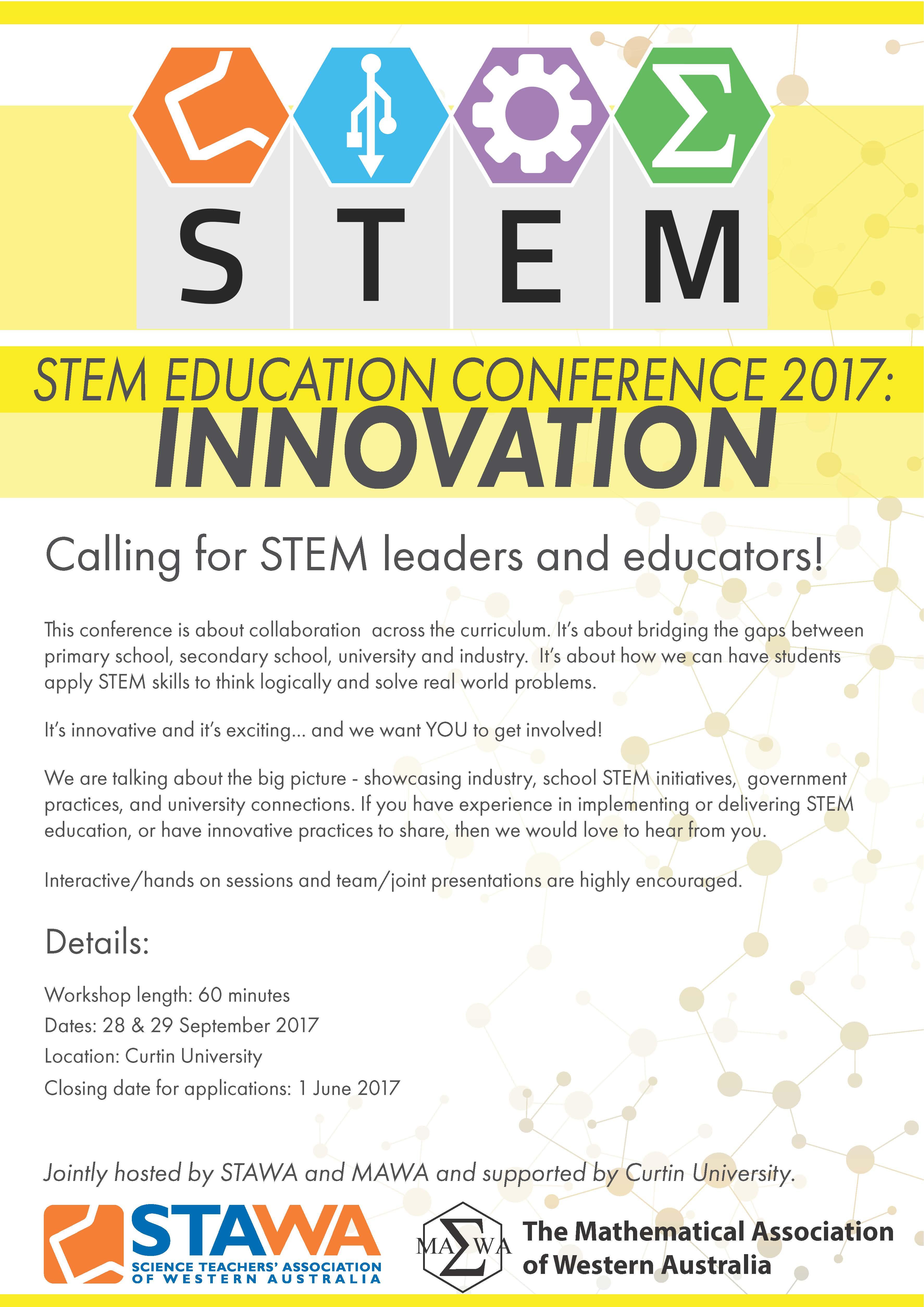 STEM Education Conference 2017: Innovation