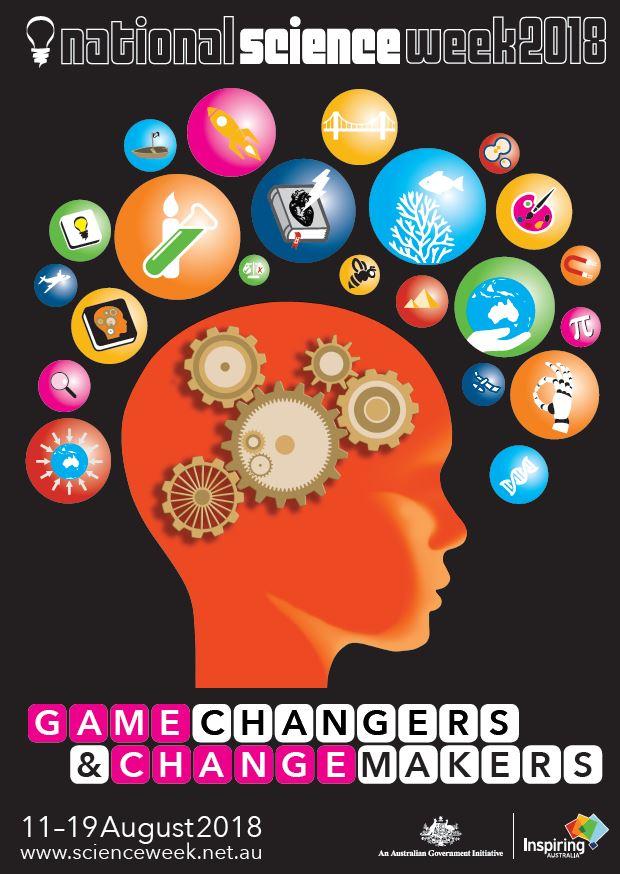 National Science Week school grants, resource book & poster